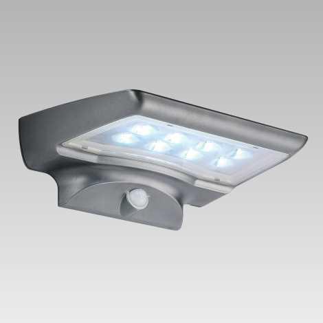Luxera 65251 - Solárne svietidlo STARGATE 8xLED/0,5W/5,4V