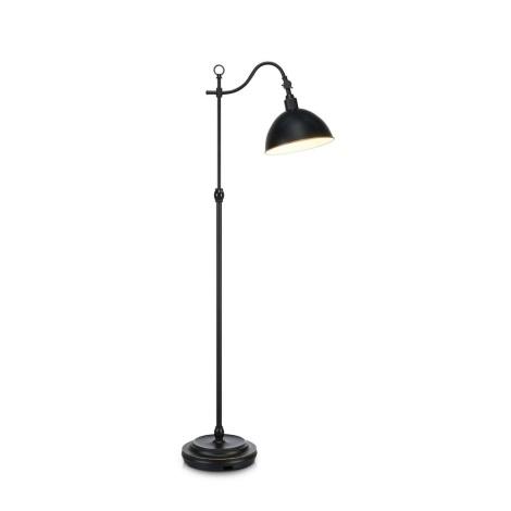 Markslöjd 104346 - Stojacia lampa EKELUND 1xE27/40W/230V čierna