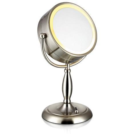 Markslöjd 105237 - Stolné zrkadlo s osvetlením FACE 1xE14/25W/230V