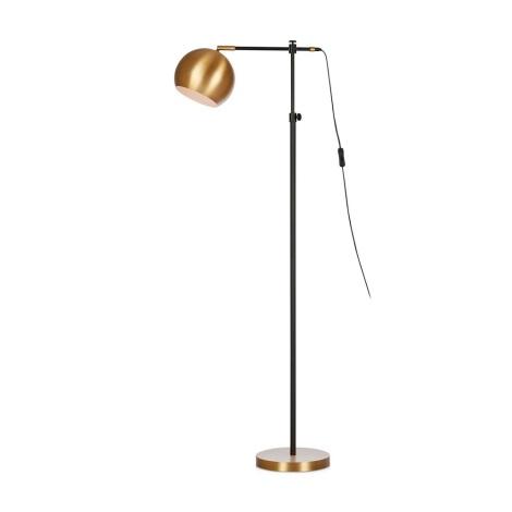 Markslöjd 107231 - Stojacia lampa CHESTER 1xE27/40W/230V čierna/bronz