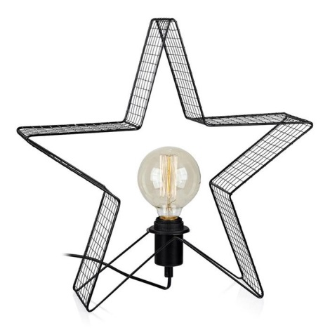 Markslöjd 703929 - LED Stolná lampa HOLGER 1xE27/25W/230V