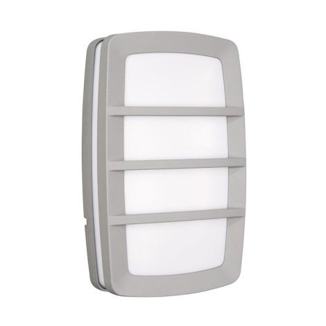 Nástenné svietidlo HAARLEM 2xE27/18W metalicky šedá