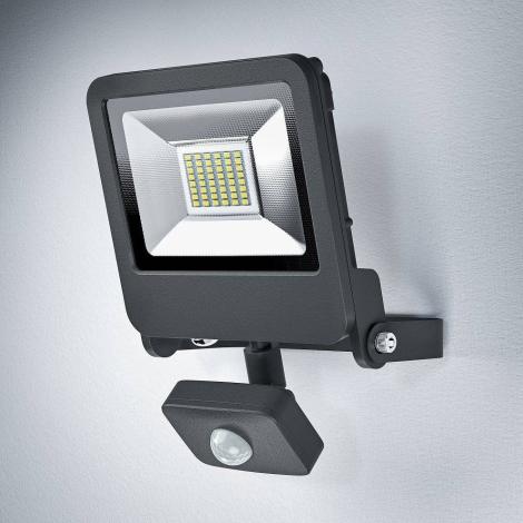 Osram - LED Vonkajší reflektor so senzorom ENDURA 1xLED/30W/230V IP44