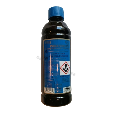 Parafínový olej 500ml citron