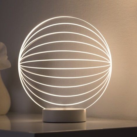 Paulmann 79537 - LED Stolná lampa TWINE LED/3W/230V