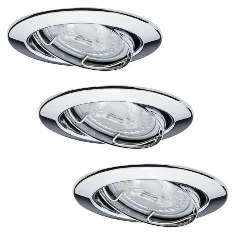 Paulmann 92101 - SADA 3x LED Podhľadové svietidlo 3xGU10/6,5W/230V