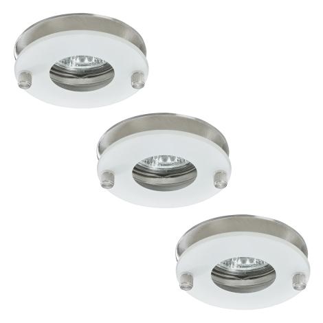 Paulmann 92549 - SET 3x Kúpeľňové svietidlo PREMIUM LINE 3xGU5,3/35W/230V/12V