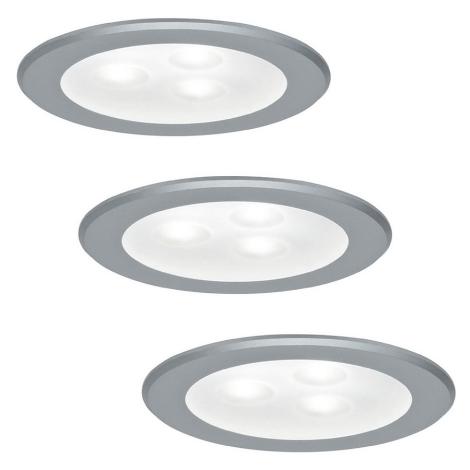 Paulmann 93544 - SADA 3x LED Podhľadové svietidlo MICRO LINE 3xLED/3W/230V