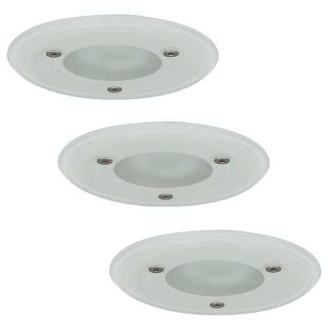 Paulmann 99477 - SET 3x 3x Kúpeľňové podhľadové svietidlo 3xGU5,3/35W/230V/12V