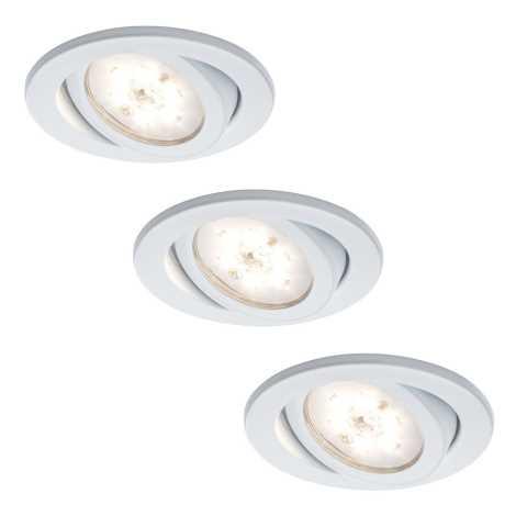 Paulmann - Nice Price 3892 - SET 3x 3x LED Podhľadové svietidlo 3xLED/3W/230V