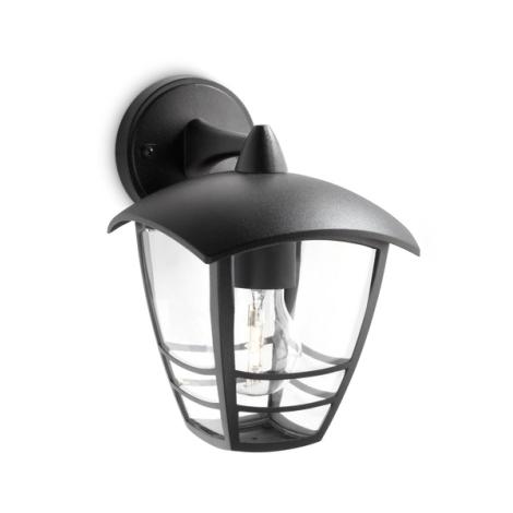 Philips 15381/30/16 - Vonkajšie nástenné svietidlo MYGARDEN CREEK 1xE27/60W/230V