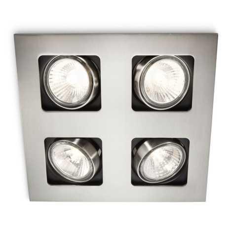 Philips 59304/17/16 - Kúpeľňové podhľadové svietidlo ARTEMIS 4xGU10/35W/230V
