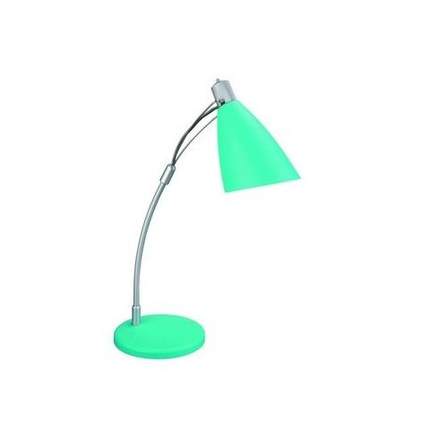 Philips Bright Light 66618/46/15 - Stolná lampa  1xE14/25W zelená