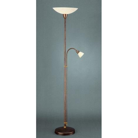 Philips Massive 09297/02/43 - Stojaca lampa DIACONUS 1xE27/150W +1 xE14/40W