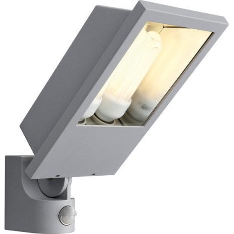Philips Massive 17516/87/16 - LAGOS senzorove vonkajšie nástenné svietidlo s čidlom 2xE27/23W