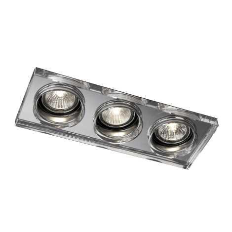 Philips Massive 59563/11/10 - Kúpeľňové podhľadové svietidlo SAPPHIRE 3xGU10/50W/230V