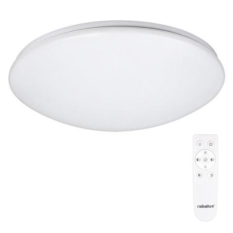 Rabalux 2636 - LED Stropné svietidlo s diaľkovým ovládačom OLLIE 1xLED/40W/230V