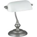 Rabalux 4037 - Stolná lampa BANK 1xE27/60W/230V