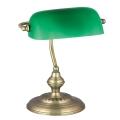 Rabalux 4038 - Stolná lampa BANK 1xE27/60W/230V