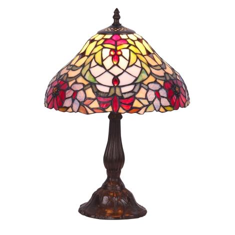 Rabalux 8090 - Tiffany stolná lampa MIRELLA 1xE27/60W/230V