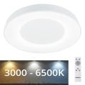 Rabalux - LED Stmievateľné stropné svietidlo LED/38W/230V biela + DO 3000-6500K