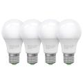 SADA 4x LED Žiarovka ECOLINE A60 E27/10W/230V 4000K - Brilagi