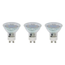 SET 3x LED Žiarovka GU10/3W - Briloner 0520-003