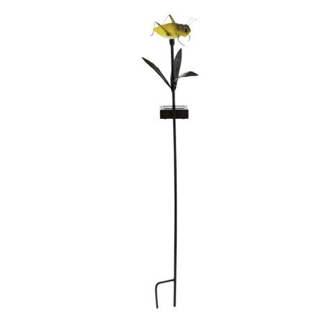 Solárná lampa kobylka 1xLED/0,024W žltá