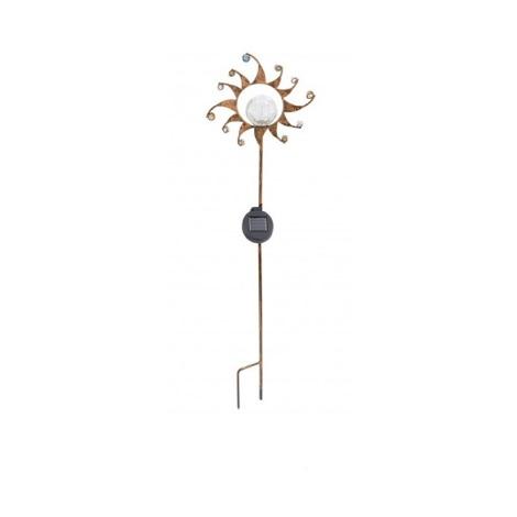 Solárná lampa slniečko 1xLED/0,015W bronz