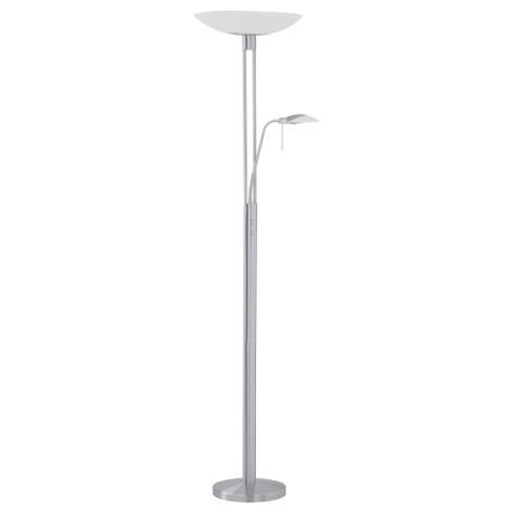 Stojanová lampa TAMPA 1xR7s/300W matný nikel / satén