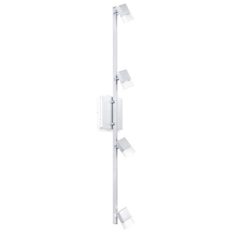Stropné nástenné svietidlo GEMINI 4xLED / 4,76 W