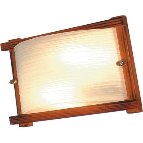 Stropné svietidlo  LATINO tmavé drevo 2xE27/60W