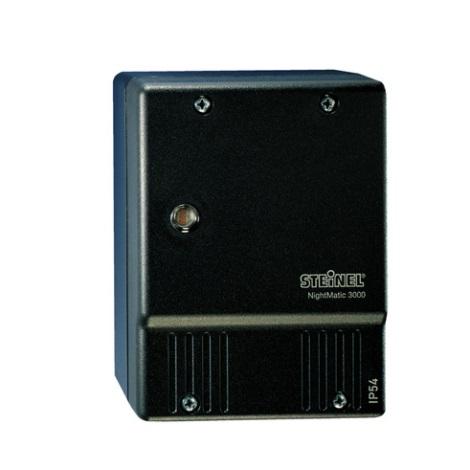 Súmrakový spínač NightMatic 3000 Vario čierna