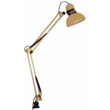 Top Light - Stolná lampa HANDY 1xE27/60W/230V zlatá