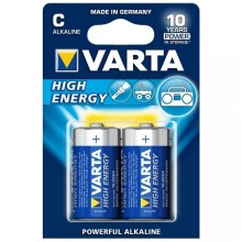 Varta 4914 - 2 ks Alkalické baterie HIGH ENERGY C 1,5V
