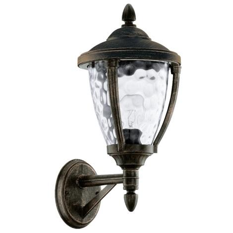 Vonkajšie nástenné svietidlo ABIRA 1xE27/60W