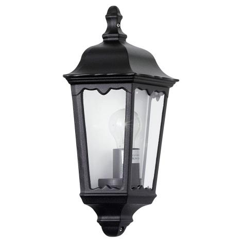 Vonkajšie nástenné svietidlo OUTDOOR čierna