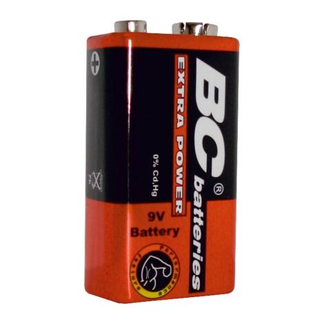 Zinkochloridová batéria EXTRA POWER 9V